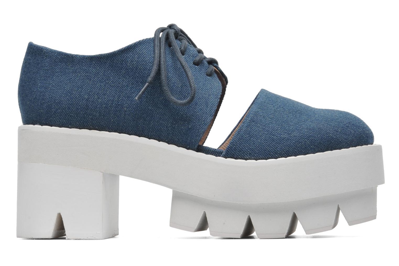Zapatos con cordones Jeffrey Campbell DELONGE Azul vistra trasera
