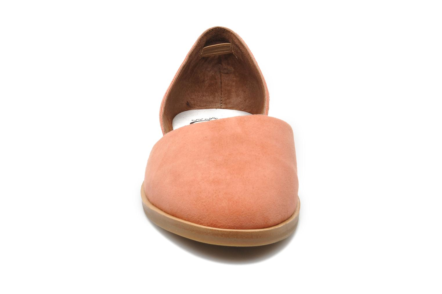 Ballet pumps Jeffrey Campbell HIT LIKE Pink model view