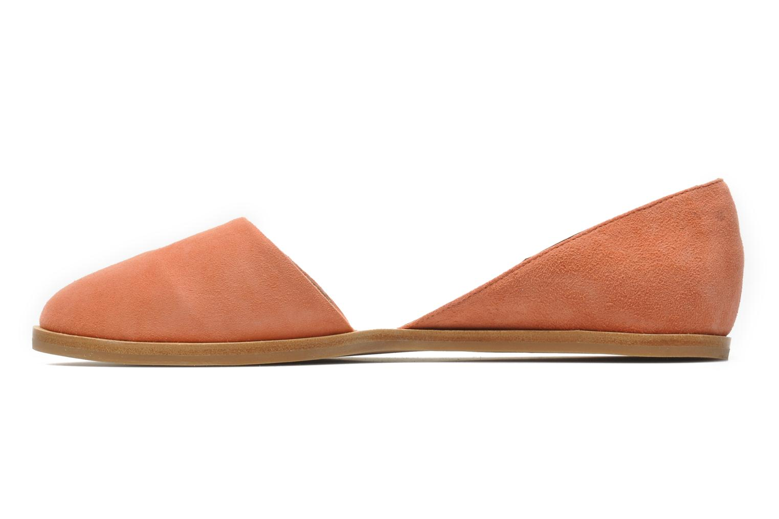 Ballet pumps Jeffrey Campbell HIT LIKE Pink front view