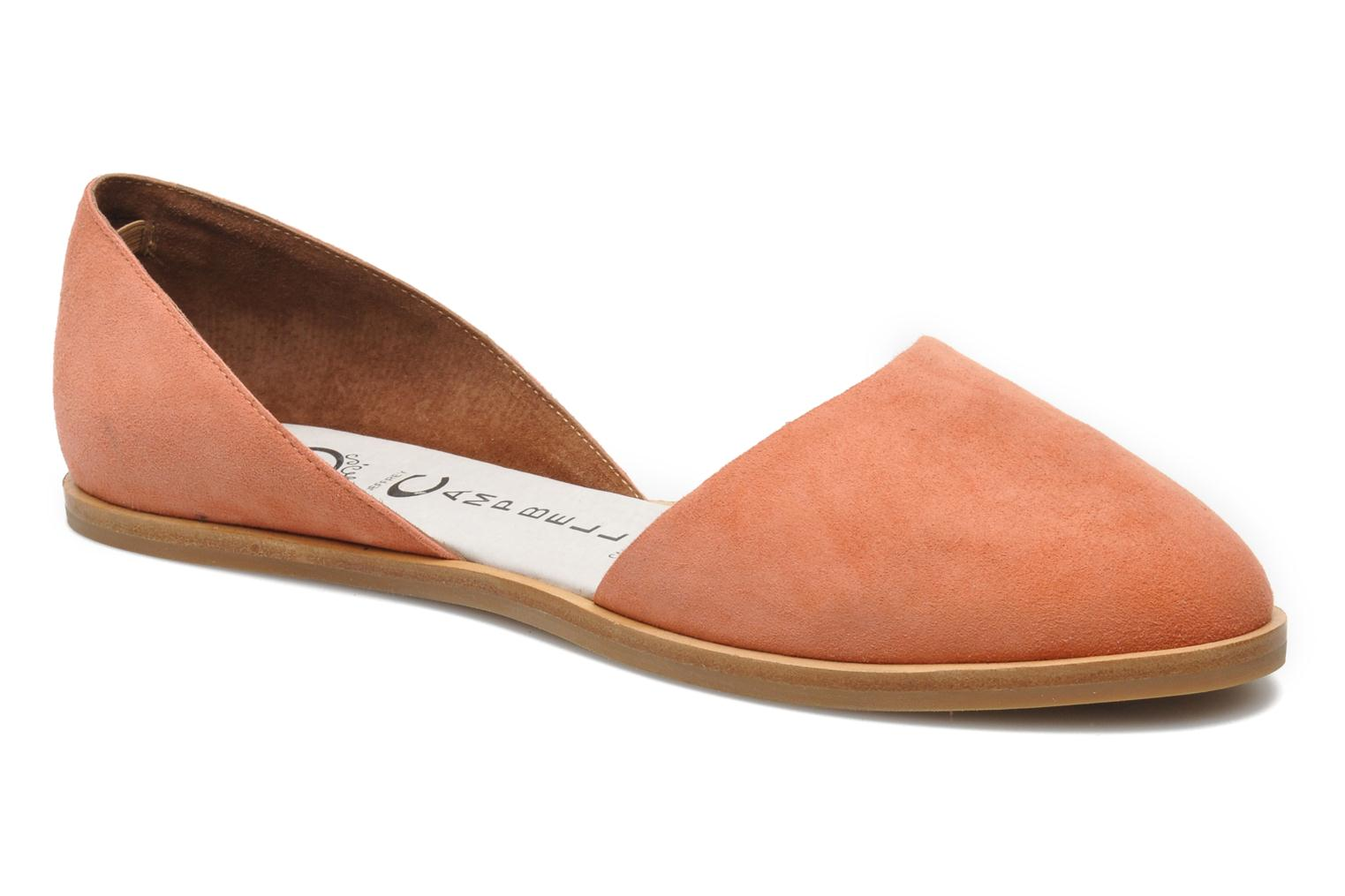 Ballet pumps Jeffrey Campbell HIT LIKE Pink detailed view/ Pair view