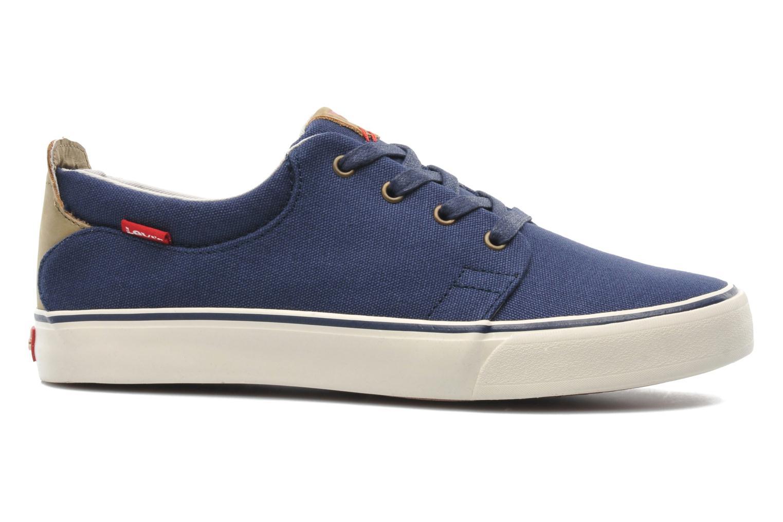 Sneaker Levi's Justin Low Lace blau ansicht von hinten