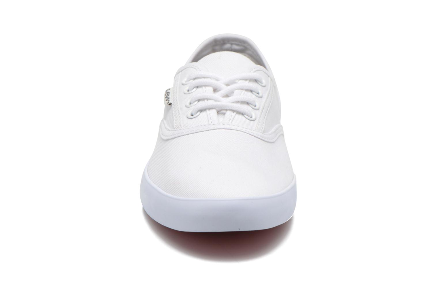 Trainers Levi's Palmdale Lace Up White model view