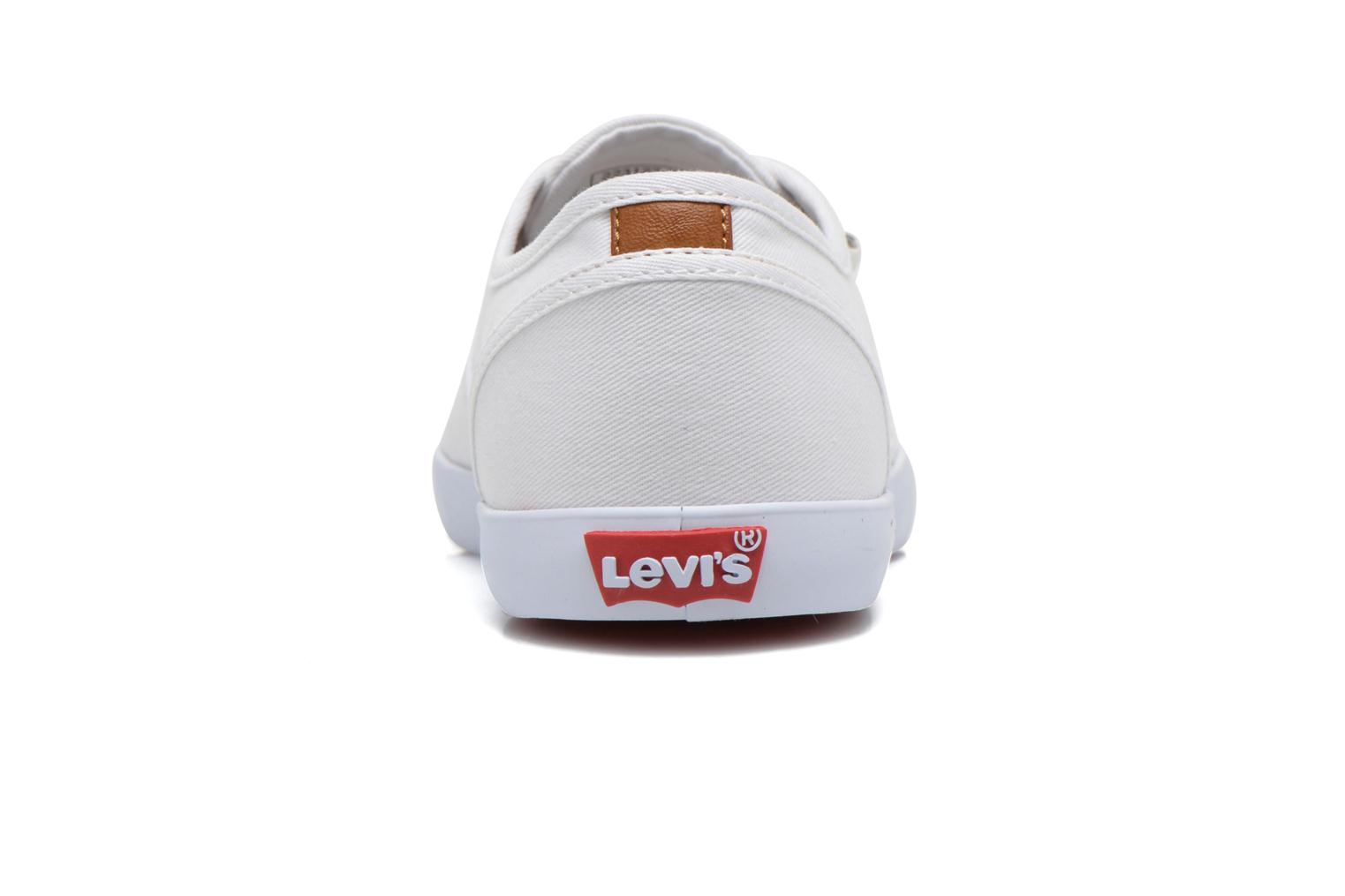 Trainers Levi's Palmdale Lace Up White view from the right