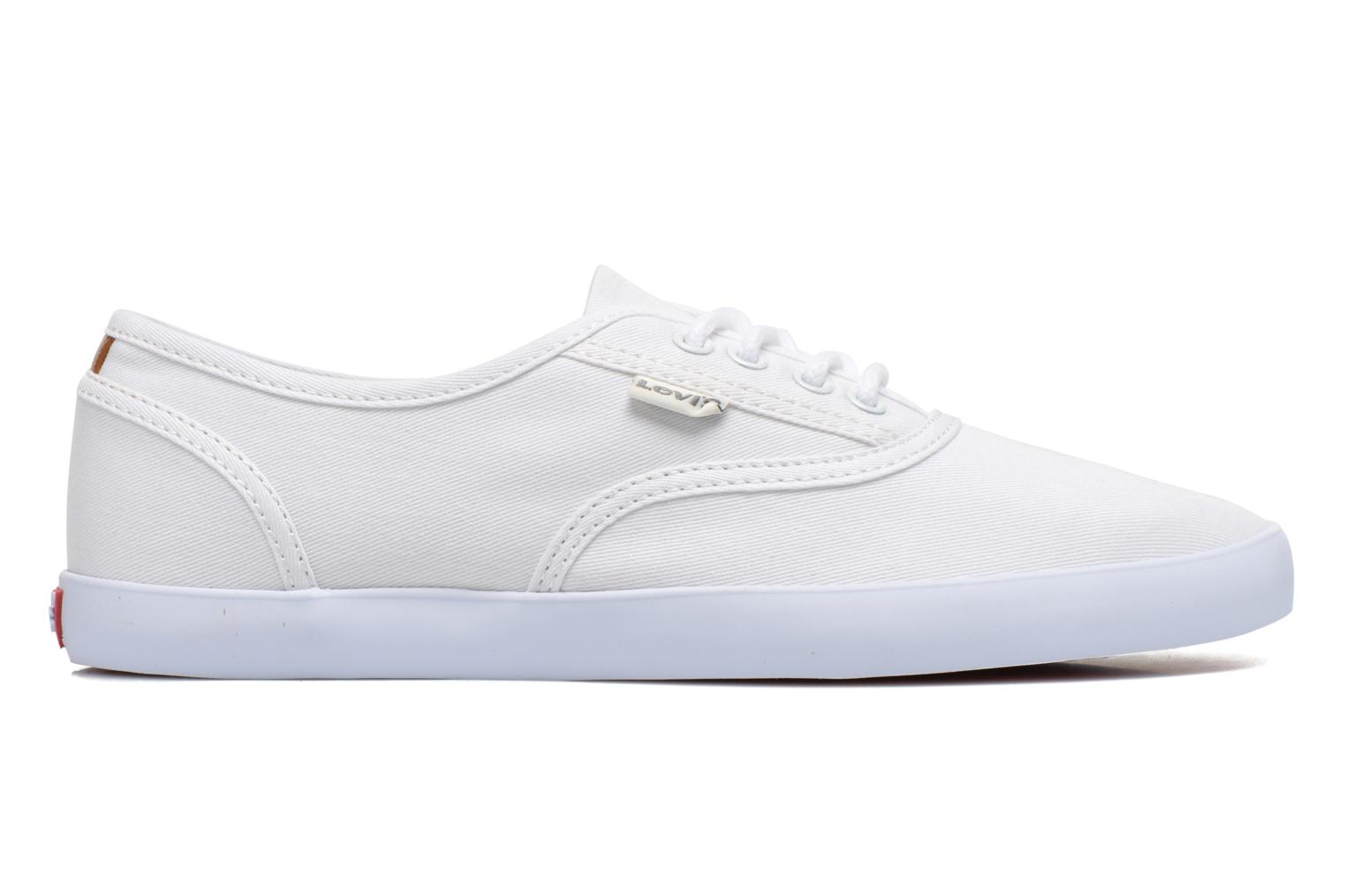Trainers Levi's Palmdale Lace Up White back view