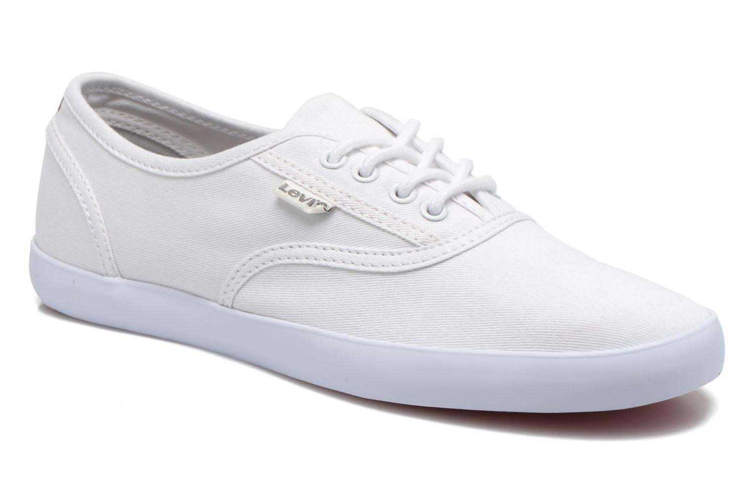 Trainers Levi's Palmdale Lace Up White detailed view/ Pair view