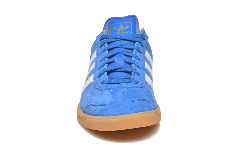 Sneaker Adidas Originals Hamburg blau schuhe getragen