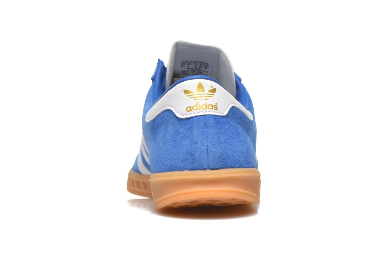 Sneakers Adidas Originals Hamburg Blå Bild från höger sidan