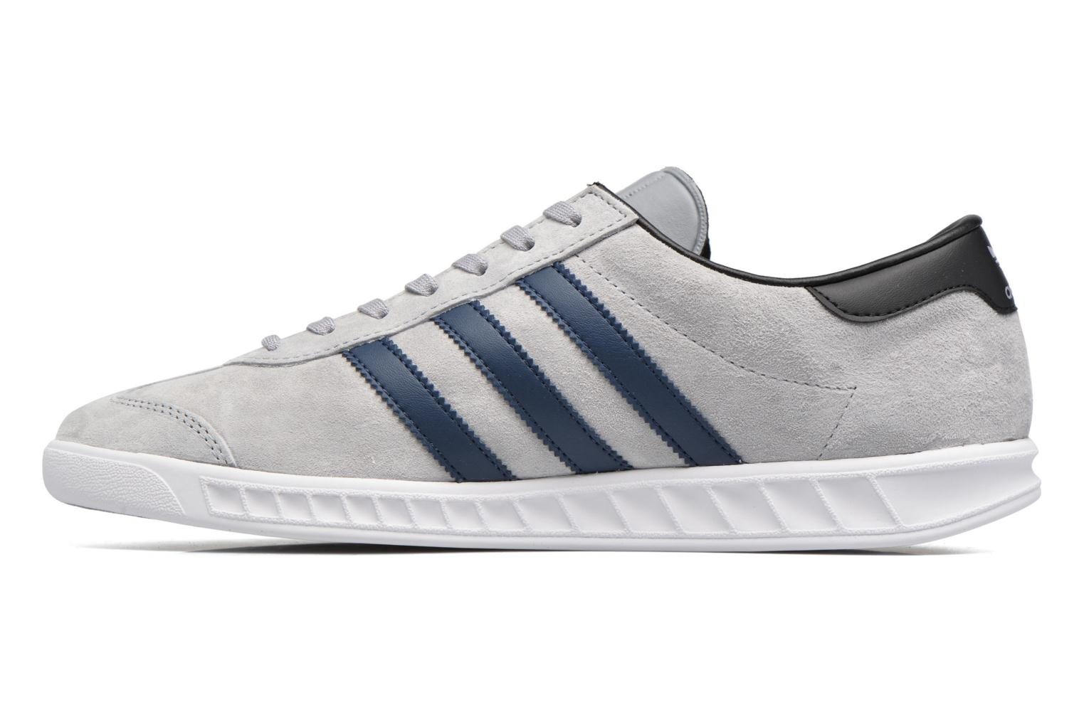 Baskets Adidas Originals Hamburg Gris vue face