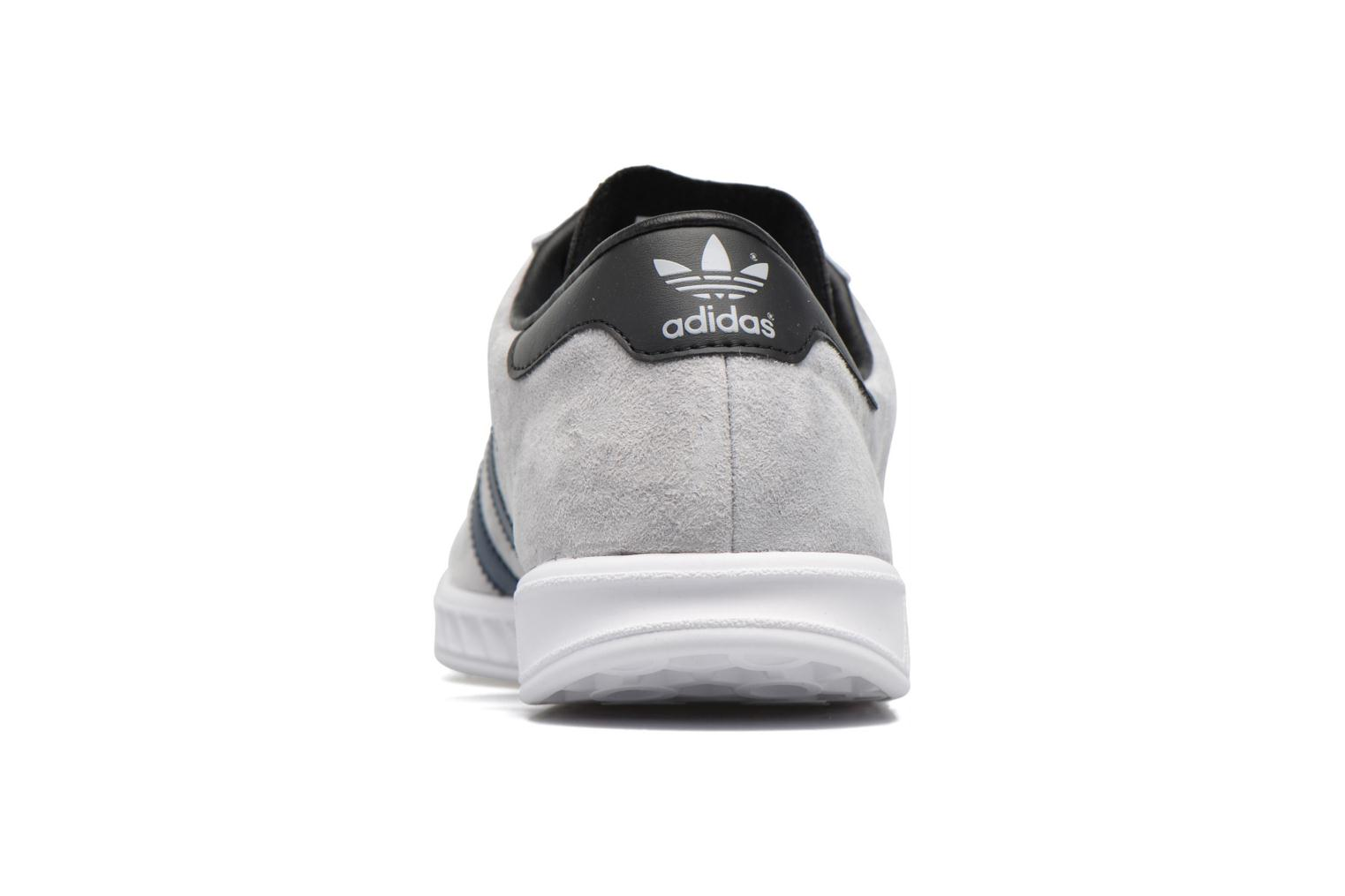 Baskets Adidas Originals Hamburg Gris vue droite