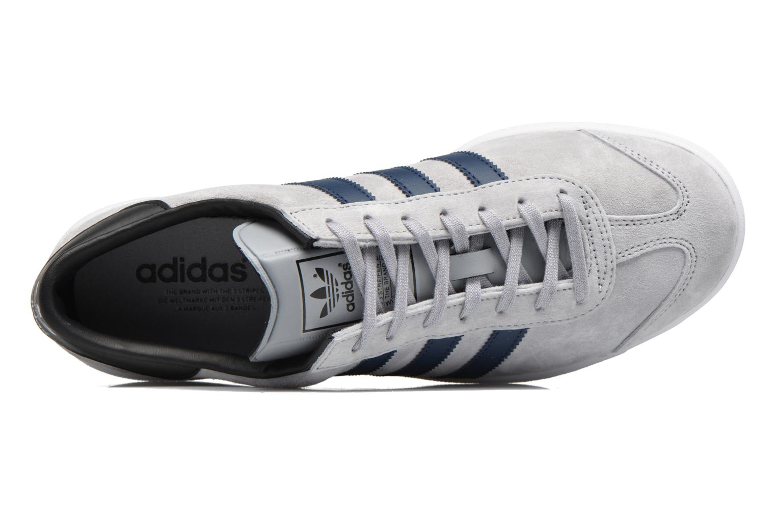 Baskets Adidas Originals Hamburg Gris vue gauche