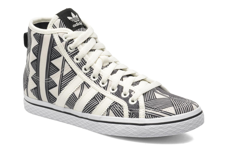 Deportivas Adidas Originals Honey Mid W Blanco vista de detalle / par