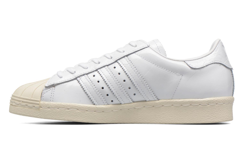Trainers Adidas Originals Superstar 80S W White front view
