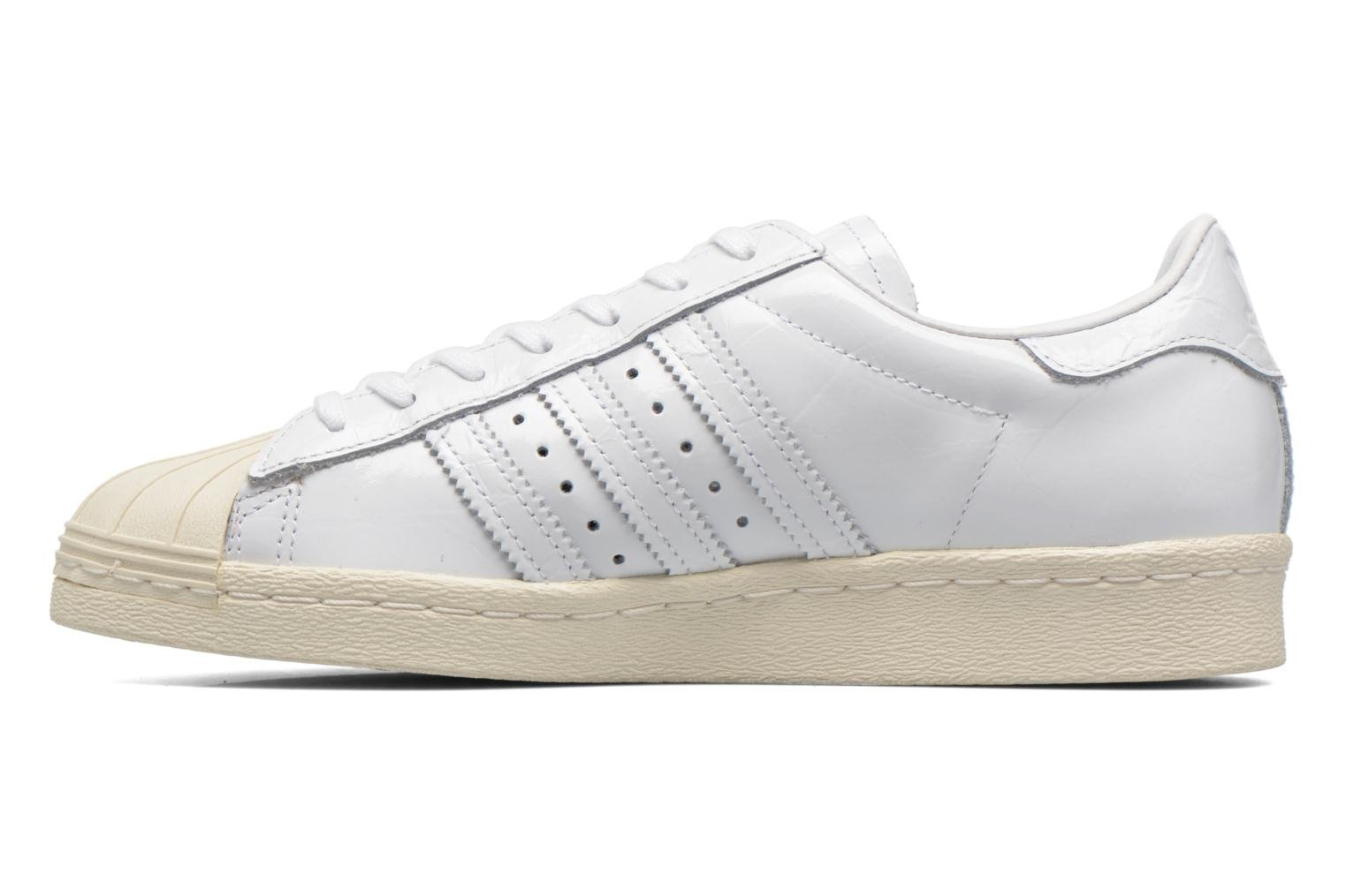 Sneakers Adidas Originals Superstar 80S W Wit voorkant