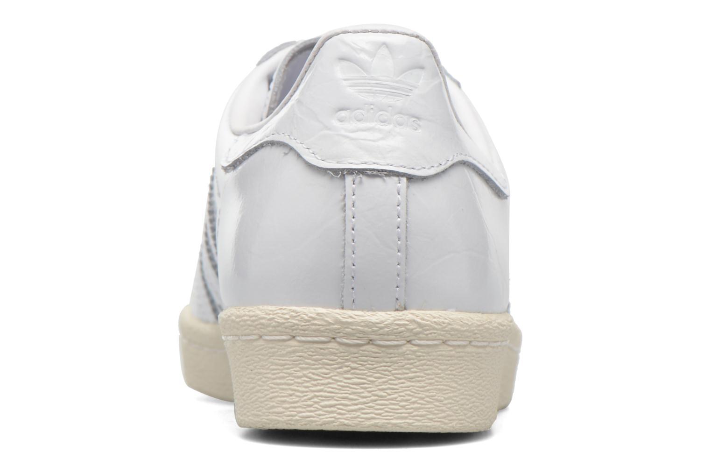 Deportivas Adidas Originals Superstar 80S W Blanco vista lateral derecha