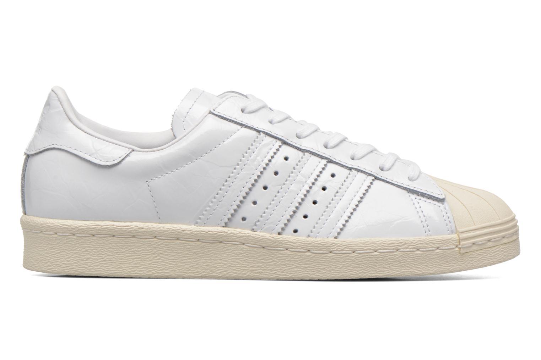 Baskets Adidas Originals Superstar 80S W Blanc vue derrière