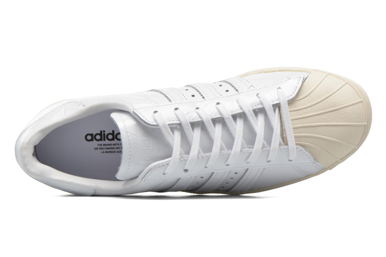 Deportivas Adidas Originals Superstar 80S W Blanco vista lateral izquierda