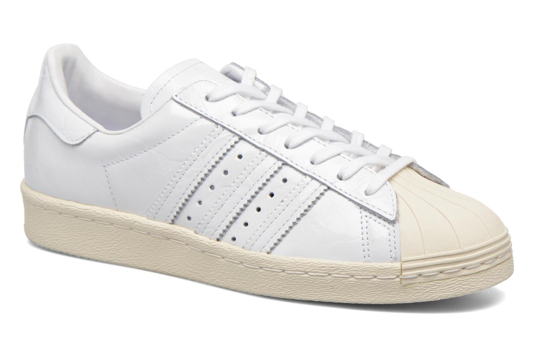 Baskets Adidas Originals Superstar 80S W Blanc vue détail/paire