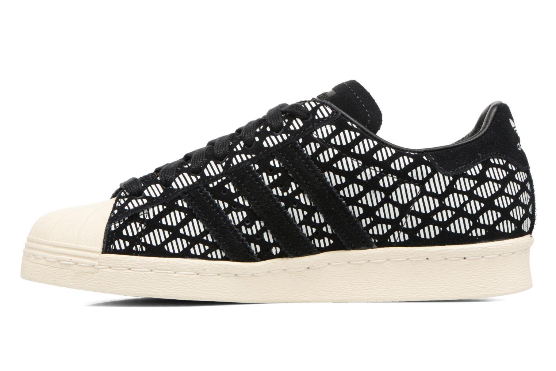Baskets Adidas Originals Superstar 80S W Noir vue face