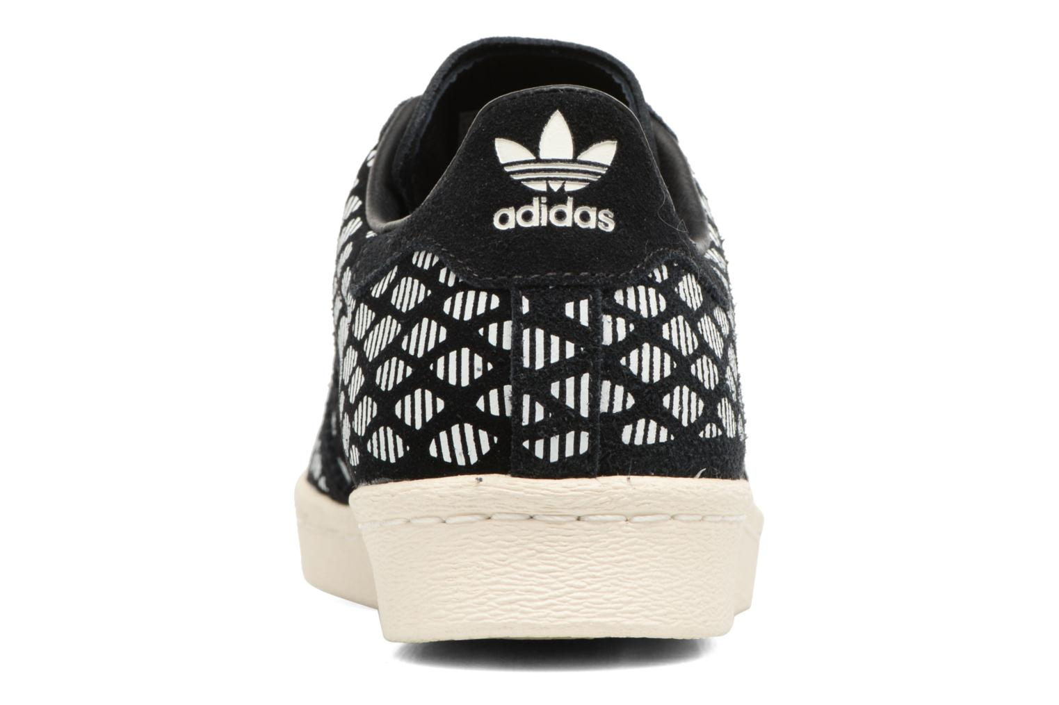 Baskets Adidas Originals Superstar 80S W Noir vue droite