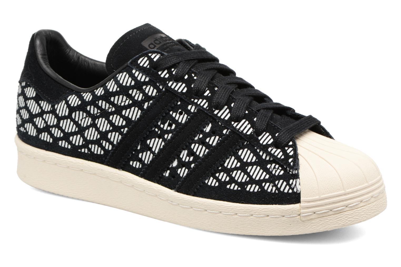 Baskets Adidas Originals Superstar 80S W Noir vue détail/paire