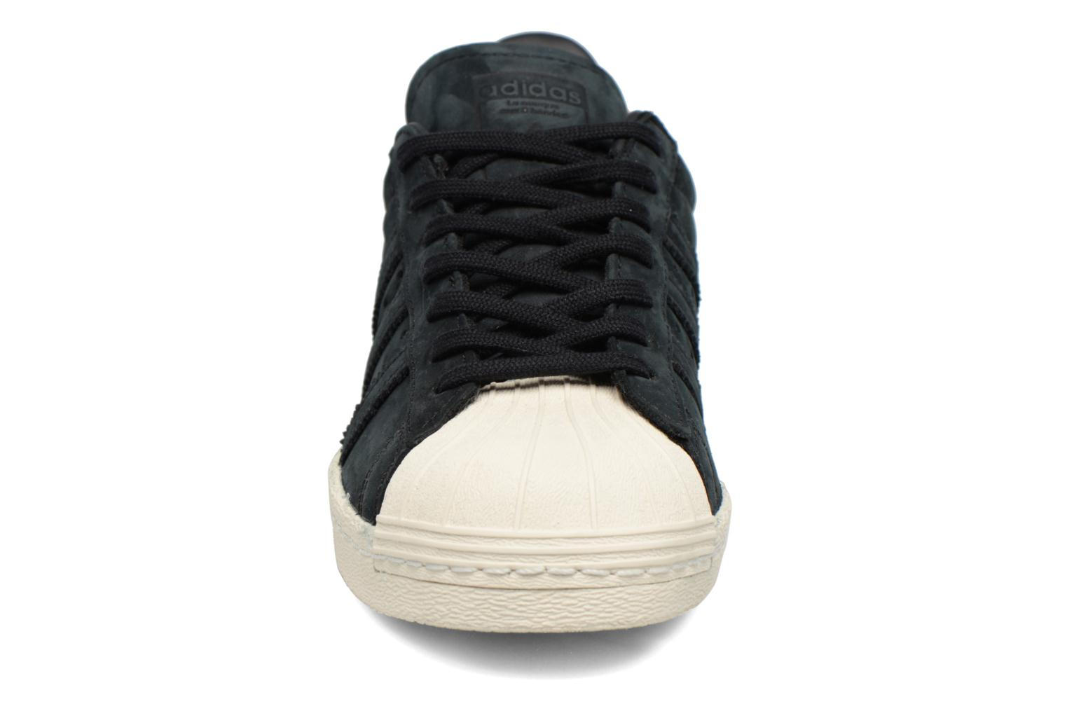 Trainers Adidas Originals Superstar 80S W Black model view