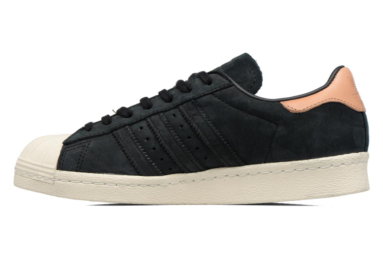 Sneaker Adidas Originals Superstar 80S W schwarz ansicht von vorne