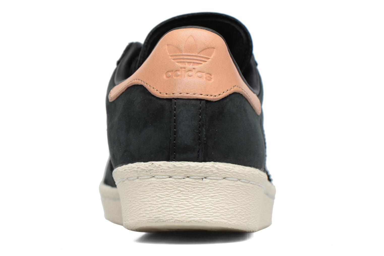 Sneaker Adidas Originals Superstar 80S W schwarz ansicht von rechts