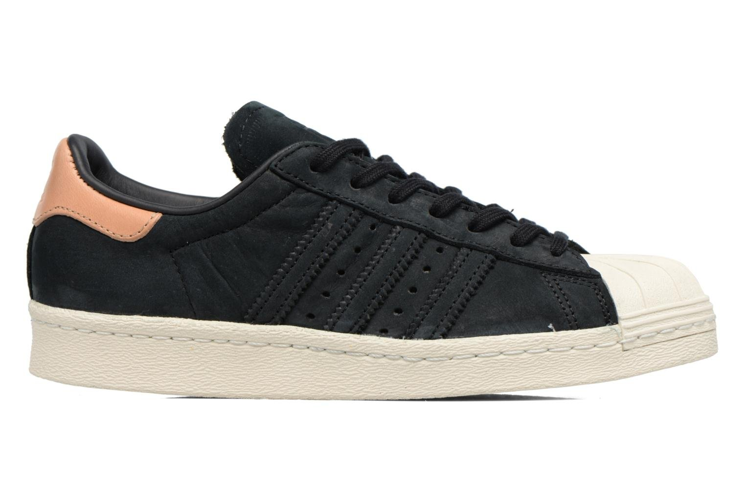 Trainers Adidas Originals Superstar 80S W Black back view