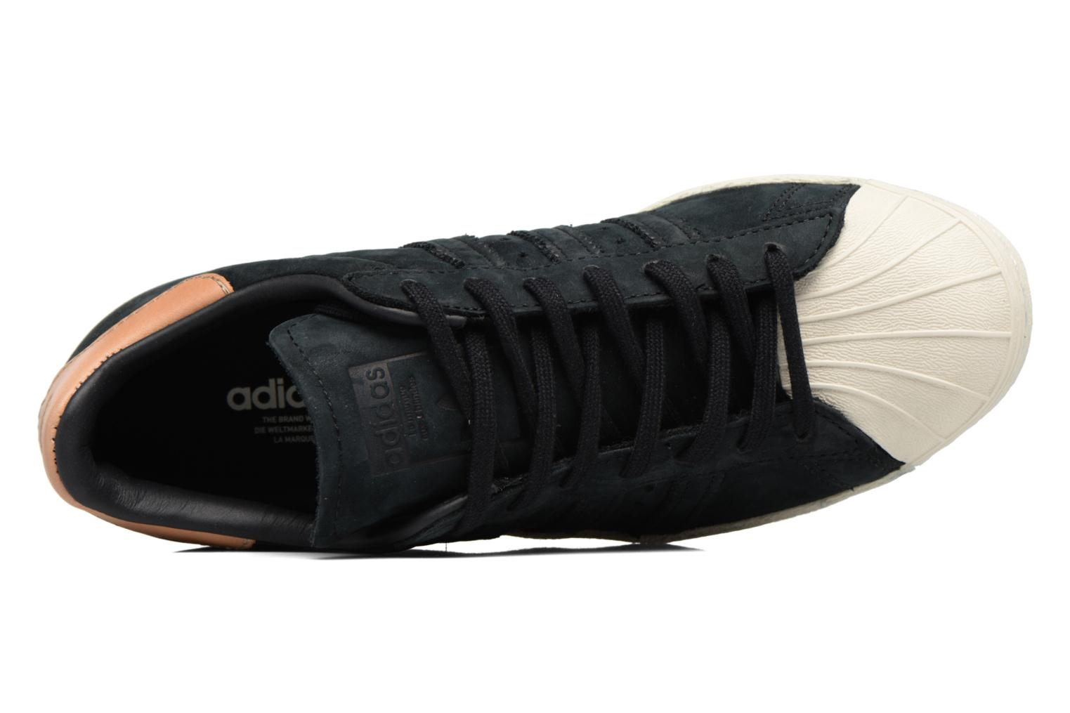 Trainers Adidas Originals Superstar 80S W Black view from the left