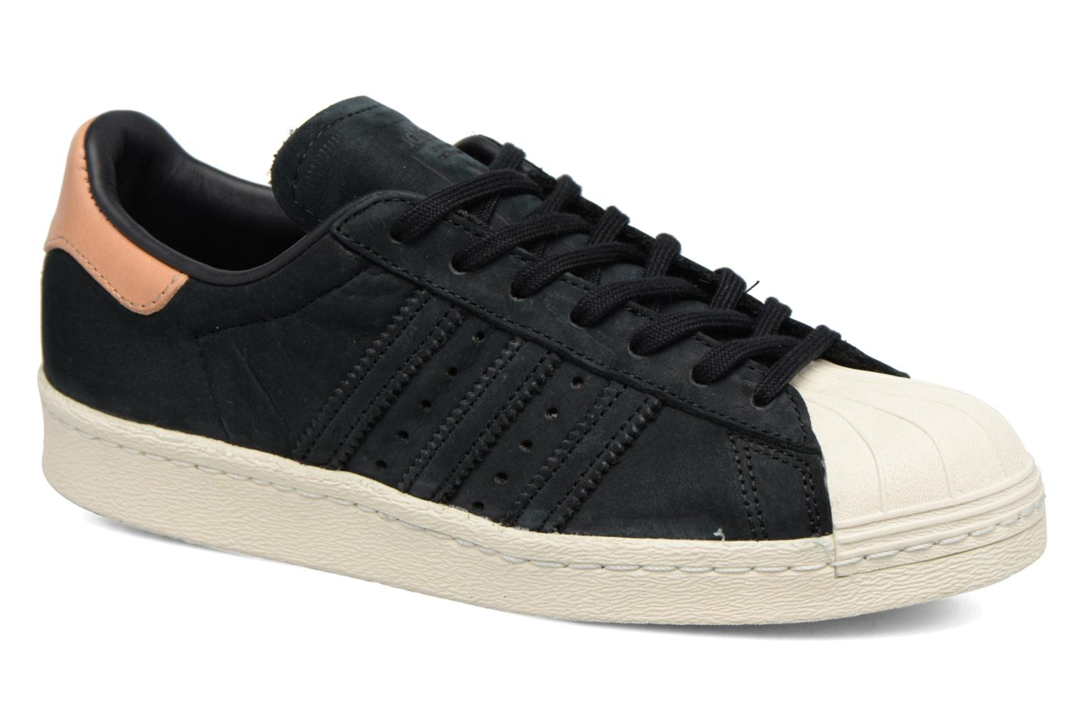 Trainers Adidas Originals Superstar 80S W Black detailed view/ Pair view