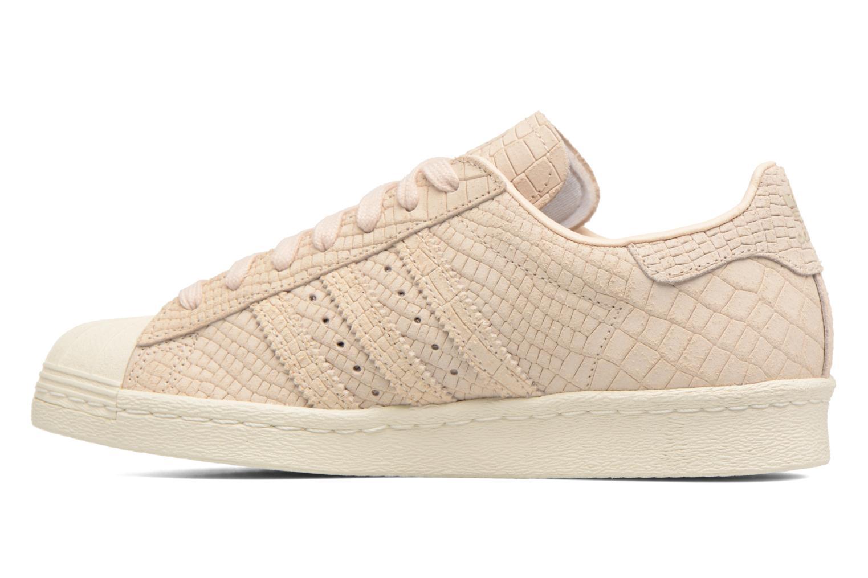Sneaker Adidas Originals Superstar 80S W beige ansicht von vorne