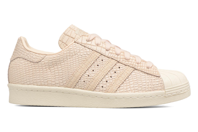 Sneaker Adidas Originals Superstar 80S W beige ansicht von hinten