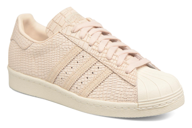 Baskets Adidas Originals Superstar 80S W Beige vue détail/paire