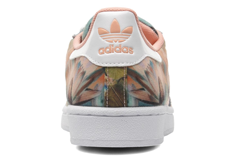 Baskets Adidas Originals Superstar W Multicolore vue droite