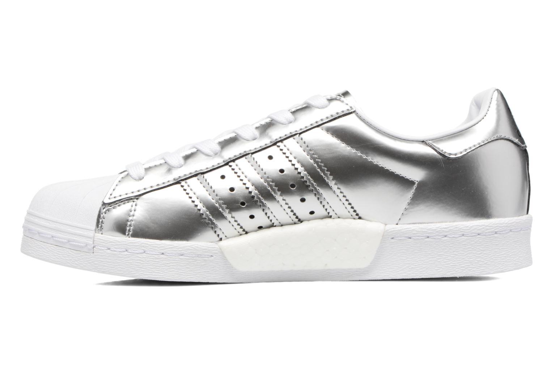 Sneaker Adidas Originals Superstar W silber ansicht von vorne