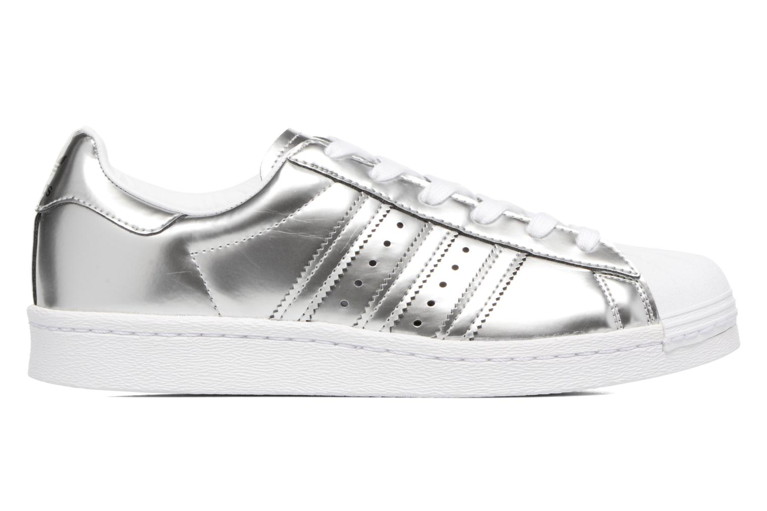 Trainers Adidas Originals Superstar W Silver back view