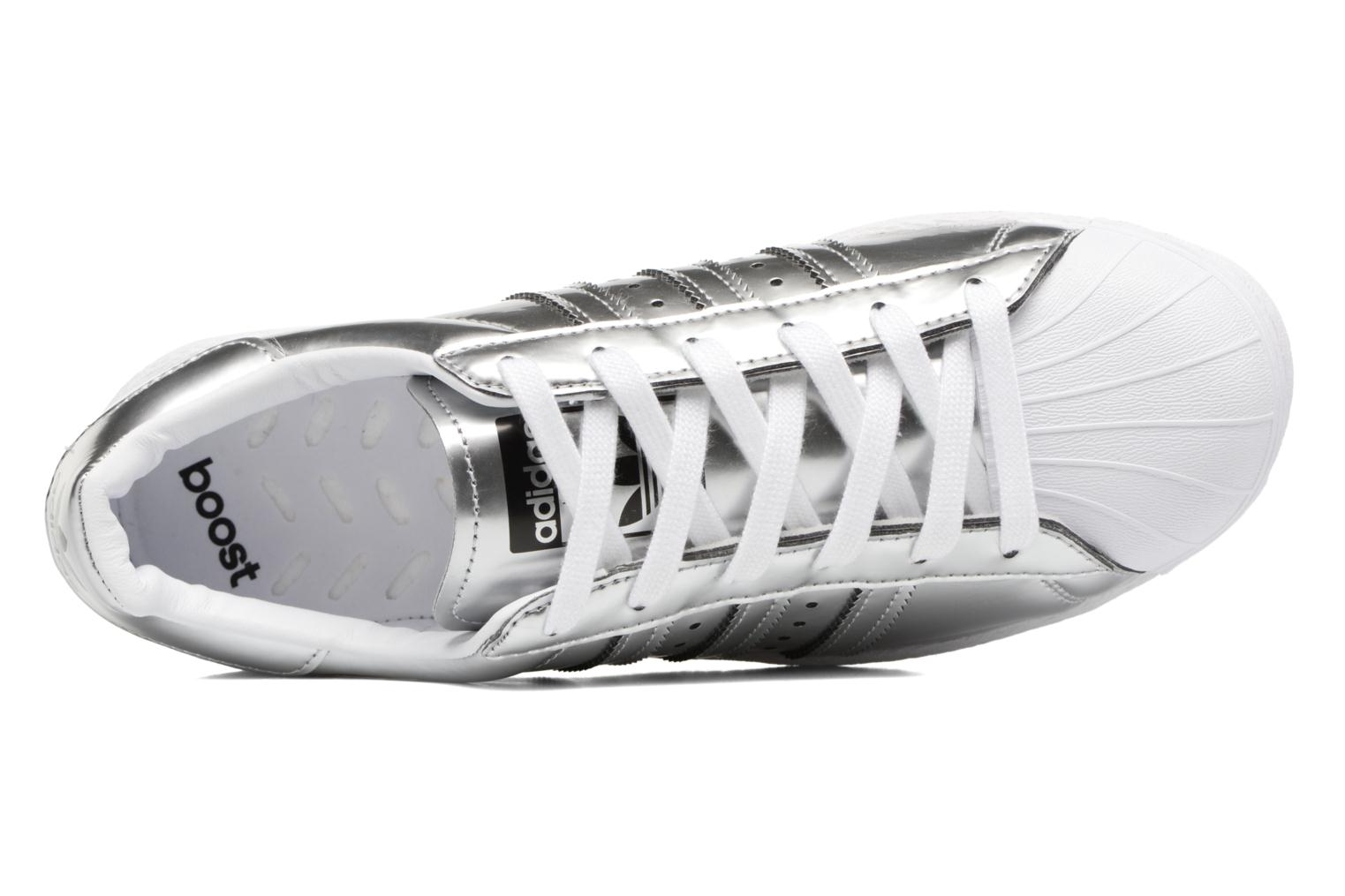 Baskets Adidas Originals Superstar W Argent vue gauche