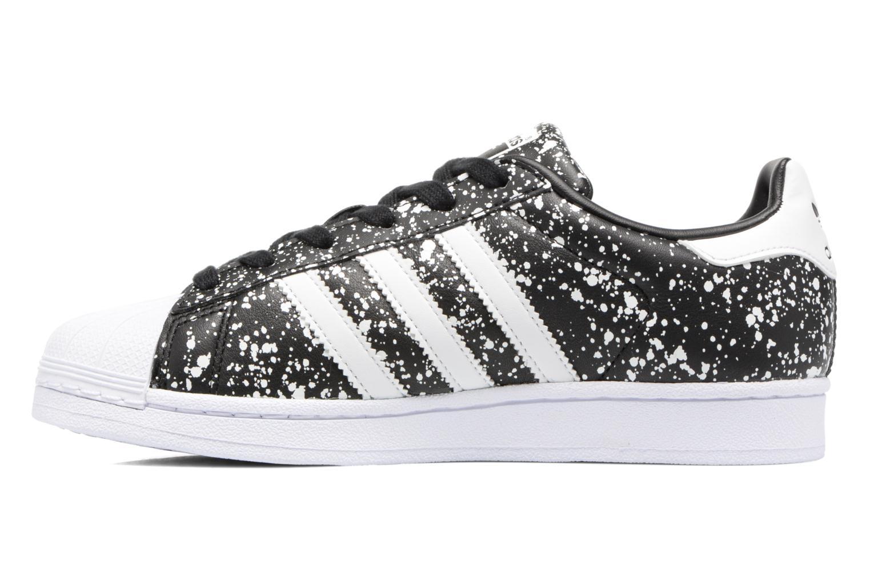 Sneakers Adidas Originals Superstar W Sort se forfra