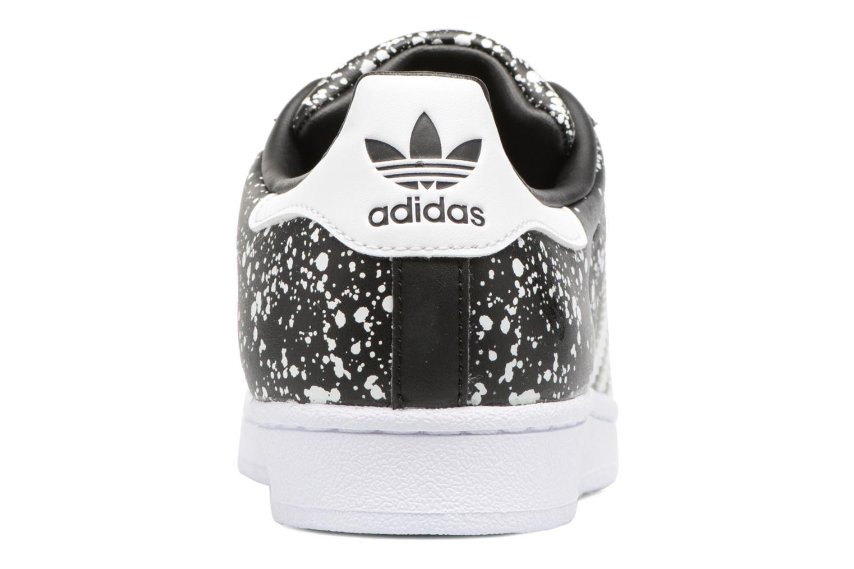 Deportivas Adidas Originals Superstar W Negro vista lateral derecha
