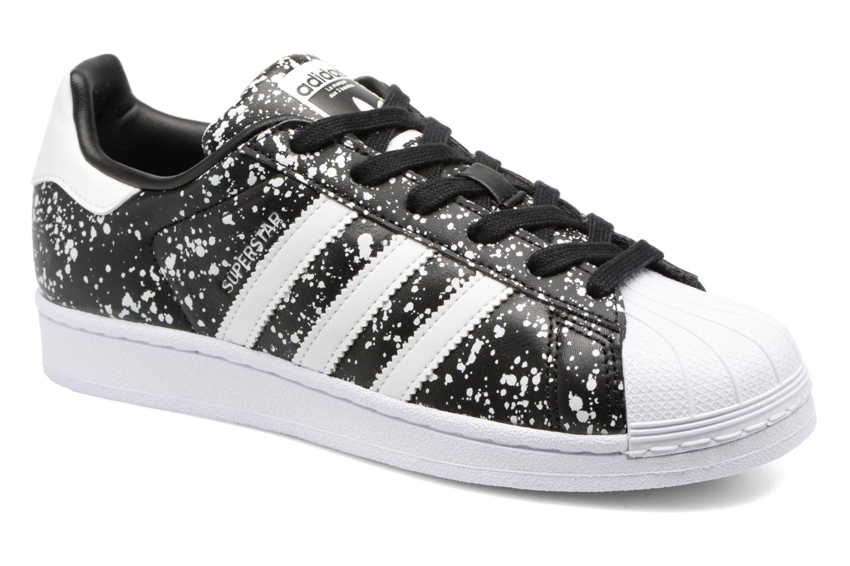 Trainers Adidas Originals Superstar W Black detailed view/ Pair view