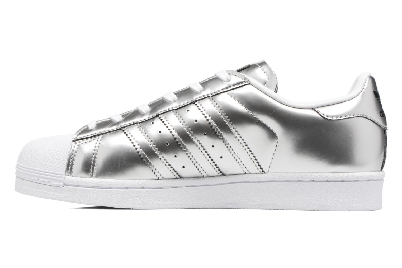Sneaker Adidas Originals Superstar W orange ansicht von vorne