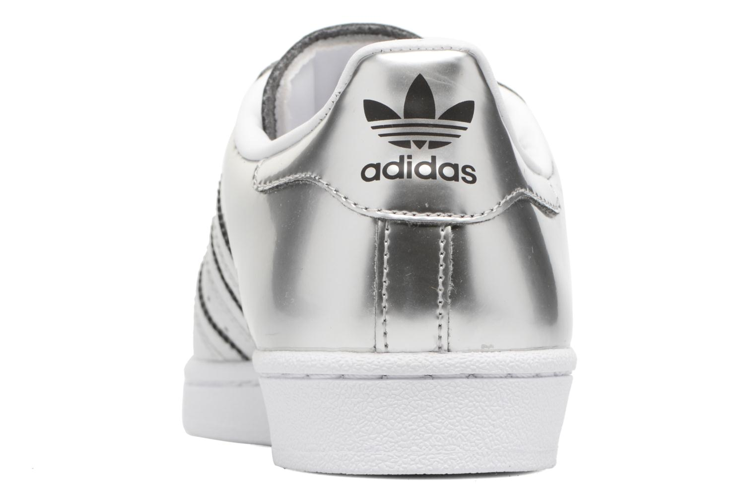 Trainers Adidas Originals Superstar W Orange view from the right