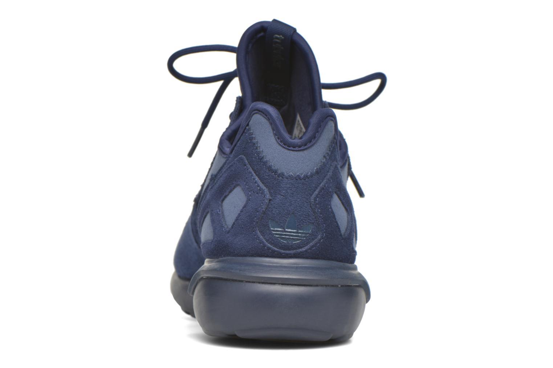 Baskets Adidas Originals Tubular Runner Bleu vue droite