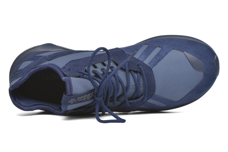 Sneaker Adidas Originals Tubular Runner blau ansicht von links