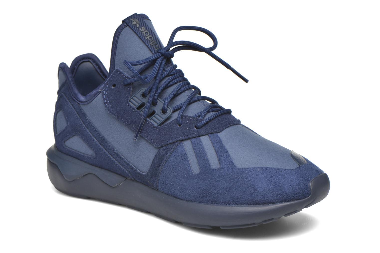 Baskets Adidas Originals Tubular Runner Bleu vue détail/paire