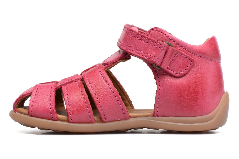 Sandalen Bisgaard Birthe rosa ansicht von vorne