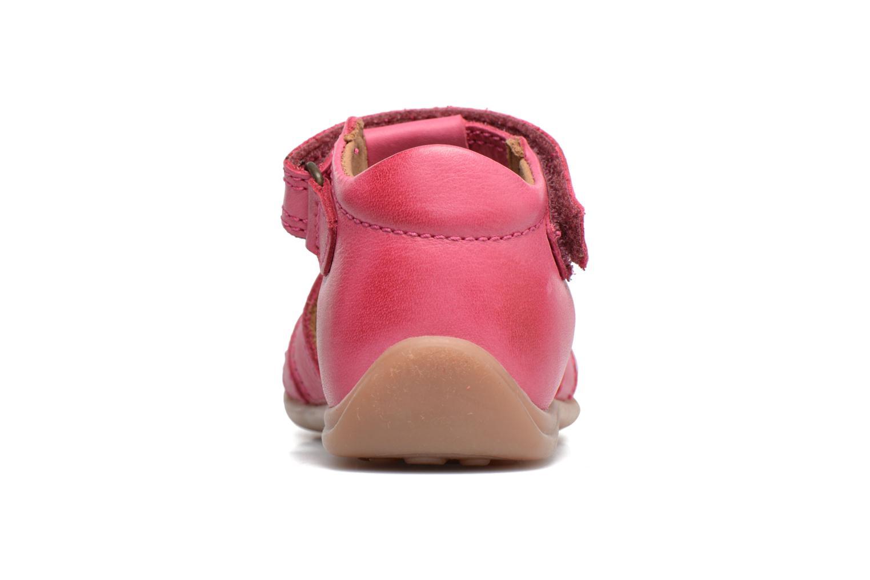 Sandalen Bisgaard Birthe rosa ansicht von rechts