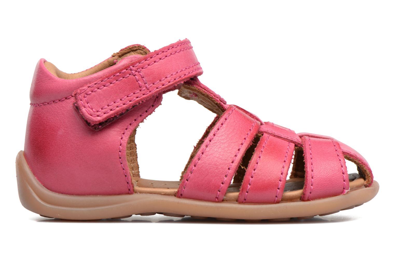 Sandalen Bisgaard Birthe rosa ansicht von hinten