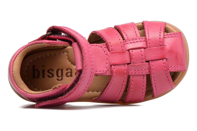 Sandalen Bisgaard Birthe rosa ansicht von links