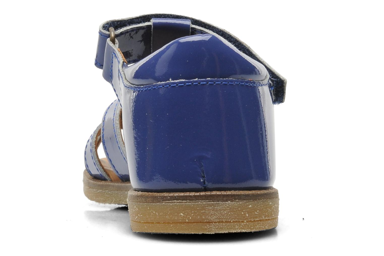 Sandales et nu-pieds Bisgaard Inge Bleu vue droite